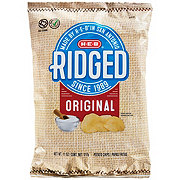 H-E-B Select Ingredients Ridged Original Potato Chips