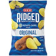 H-E-B Select Ingredients Ridged Original Potato Chips Grab Bag