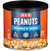 H-E-B Select Ingredients Roasted and Salted Peanuts