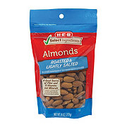 H-E-B Select Ingredients Roasted & Lightly Salted Almonds
