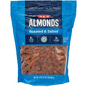 H-E-B Select Ingredients Roasted & Salted Almonds