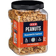 H-E-B Select Ingredients Roasted & Salted Peanuts