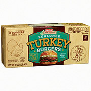 H-E-B Select Ingredients Seasoned Turkey Burger
