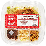 H-E-B Select Ingredients Shake Rattle & Bowl Chophouse Salad with Steak