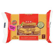 H-E-B Select Ingredients Sharp Cheddar Cheese