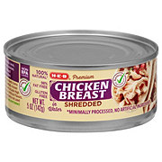 H-E-B Select Ingredients Shredded Chicken Breast
