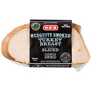 H-E-B Select Ingredients Sliced Mesquite Smoked Turkey Breast