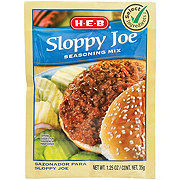 H-E-B Select Ingredients Sloppy Joe Seasoning Mix