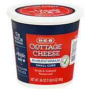 H-E-B Select Ingredients Small Curd Cottage Cheese
