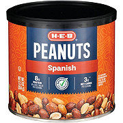 H-E-B Select Ingredients Spanish Peanuts