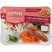 H-E-B Select Ingredients Spicy Asian Shrimp Taco Toppers