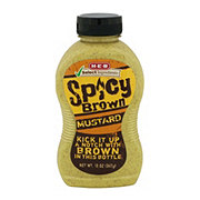 H-E-B Select Ingredients Spicy Brown Mustard