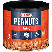 H-E-B Select Ingredients Spicy Peanuts