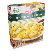 H-E-B Select Ingredients Spicy Rapini Girasoli Pasta