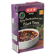 H-E-B Select Ingredients Spicy Southwestern Style Black Bean Soup
