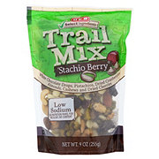 H-E-B Select Ingredients Stachio Berry Trail Mix