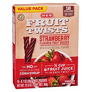 H-E-B Select Ingredients Strawberry Fruit Twist Value Pack