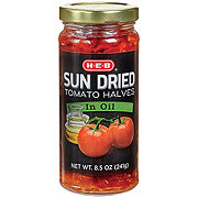 H-E-B Select Ingredients Sun Dried Tomato Halves in Oil
