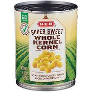 H-E-B Select Ingredients Super Sweet Whole Kernel Corn