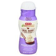 H-E-B Select Ingredients Sweet Cream Liquid Coffee Creamer