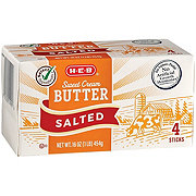 H-E-B Select Ingredients Sweet Cream Salted Butter