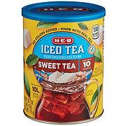 H-E-B Select Ingredients Sweet Tea Sugar Sweetened Iced Tea Mix