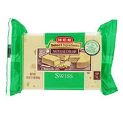 H-E-B Select Ingredients Swiss Cheese