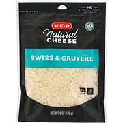H-E-B Select Ingredients Swiss Fancy Shredded Cheese