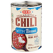 H-E-B Select Ingredients Texas Style Chili with Beans