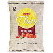H-E-B Select Ingredients Thin Adobado Potato Chips
