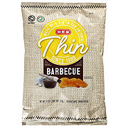 H-E-B Select Ingredients Thin Barbeque Potato Chips