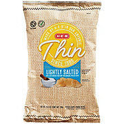 H-E-B Select Ingredients Thin Lightly Salted Potato Chips