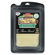 H-E-B Select Ingredients Thin Sliced Mozzarella