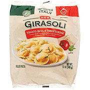 H-E-B Select Ingredients Tomato Basil & Three Cheese Girasoli