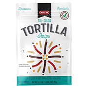H-E-B Select Ingredients Tri-Color Tortilla Strips