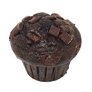 H-E-B Select Ingredients Triple Chocolate Muffin Single