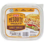 H-E-B Select Ingredients Turkey Breast  Mesquite Smoked Shaved