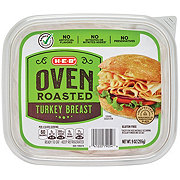 H-E-B Select Ingredients Turkey Breast Oven Roasted Shaved