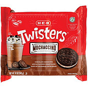 H-E-B Select Ingredients Twisters Mochaccino Cookies