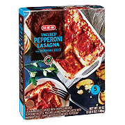 H-E-B Select Ingredients Uncured Pepperoni Lasagna Marinara Sauce