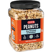 H-E-B Select Ingredients Unsalted Dry Roasted Peanuts