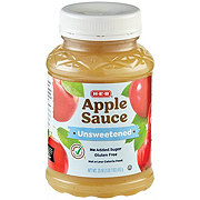 H-E-B Select Ingredients Unsweetened Apple Sauce