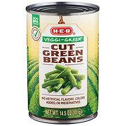 H-E-B Select Ingredients Veggi-Green Cut Green Beans