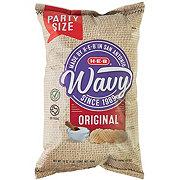 H-E-B Select Ingredients Wavy Original Potato Chips Party Size