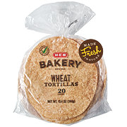 H-E-B Select Ingredients Wheat Tortillas