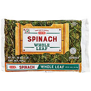 H-E-B Select Ingredients Whole Leaf Spinach