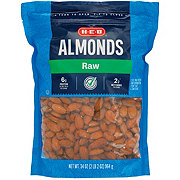 H-E-B Select Ingredients Whole Natural Raw Almonds