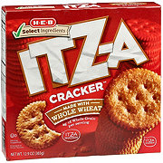 H-E-B Select Ingredients Whole Wheat ITZ-A Cracker