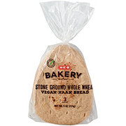 H-E-B Select Ingredients Whole Wheat Vegan Naan