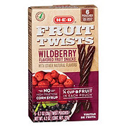 H-E-B Select Ingredients Wild Berry Fruit Twists
